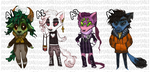 Auction Adoptables! (closed) by Leerer-Raum