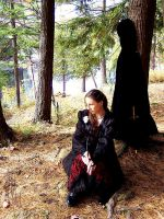 Forest shoot09. Missing you. by MelanieWolfrin