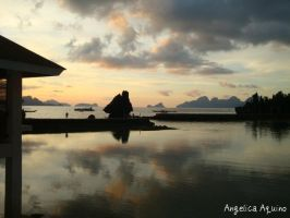 then I saw the Mid Sunset View by Angelica-Aquino