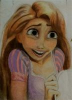 Rapunzel's Laughing by x12Rapunzelx