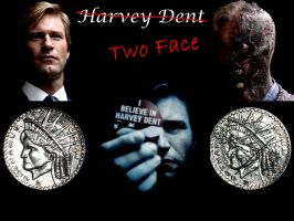 Harvey 'Two Face' Dent by dacaz5