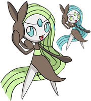 648 - Meloetta (Aria Forme) - art v.2 by Tails19950