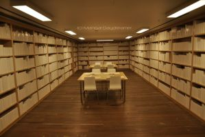 The White Library by sumangal16