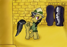 Daring Do in Egypt by monicagranger