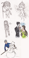 ROTG: Art Dump 3 by Morisaurus