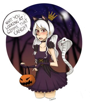Trick or Treat by lagoliv