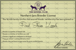 Northern Jaro Breeder Licence by LadyLirriea