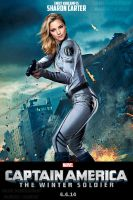 Emily VanCamp is Sharon Carter by Valor1387