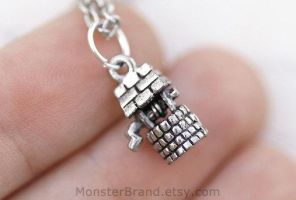 Wishing Well Necklace by MonsterBrandCrafts