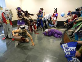 League of Legends Anime Boston 2012 by Allyson-x