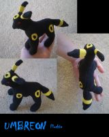 Umbreon Plush by Silverbirch