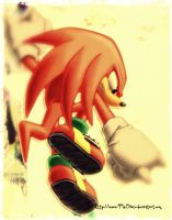 Knuckles the Echidna by SubrosaEnigma