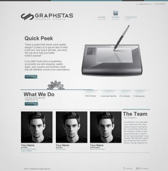 Web Layout by graphstas