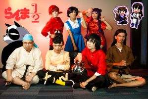 Ranma: All Together Now by nekomiKasai