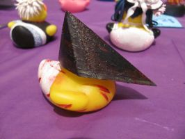 Pyramid Head Duck by spongekitty