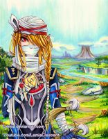 Hyrule Warriors Sheik by LemiaCrescent