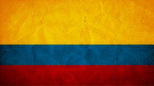 Colombia Grunge Flag by SyNDiKaTa-NP