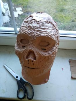 Ghoul mask WIP by Yshara
