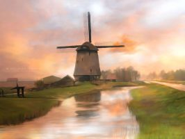Windmill by cylonka