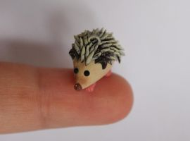 Hedgehog Charm by Ingalain