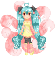 [closed] Adopt Harajuku fox by MyKawaiiMomo-chan