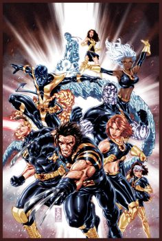 Ultimate X-Men cover by diablo2003