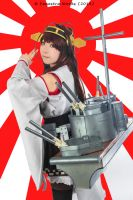 Kancolle - Kongou Rising Sun by Fenestra-Works