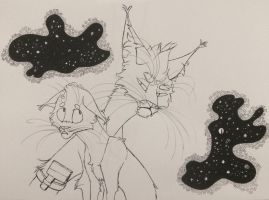 Inktober: Rick and Morty by LoveAnimals8