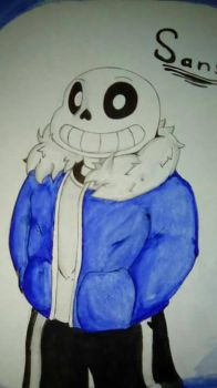 Sans (Undertale) by wolfgray168