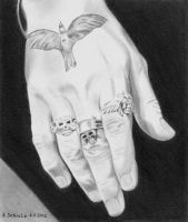 Johnny Depp - Hand Study by shaman-art