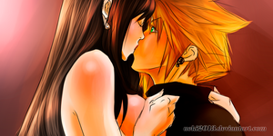 The Love (Cloud and Tifa finally) by uekiOdiny