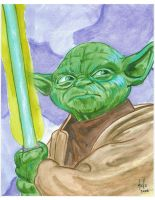 Yoda by TonyMiello