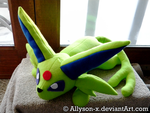 Shiny Espeon Plush by Allyson-x
