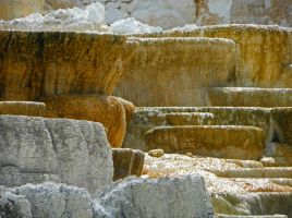 Mammoth Hot Springs III by Synaptica