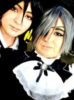 Hmm, Young Master, what's a selfie? by HikaruToTheHeart