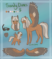 Sandy Dunes Reference Sheet by Kama-ItaeteXIII