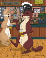 The Drunk Weasel by BlueWolf-87