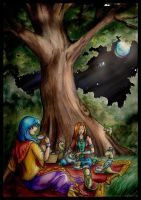 Night Picnic by North-ProjectToren