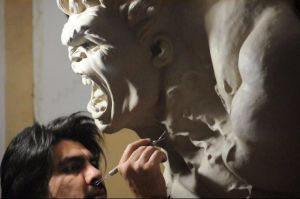 hulk bust . scale by zoko1