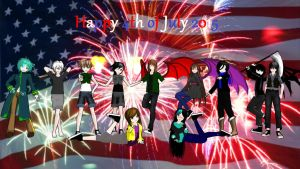 Happy 4th of July 2015 by RitaLeader14