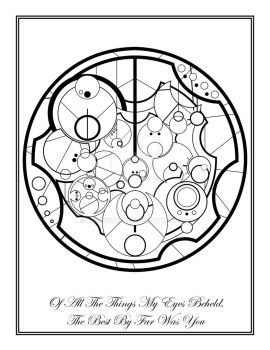 Gallifreyan Poetry- Of All The Things by Notshurly