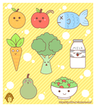 Healthy Foods by Yuuhiko