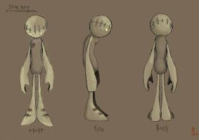 Modelsheet for my Graduating animated movie by puky7
