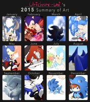 2015 Summary of art by Unichrome-uni