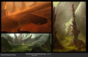 Gw2 pre production sketches by jungpark