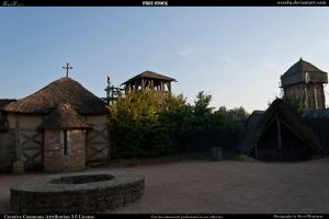 Medieval village 15 by Wess4u