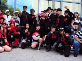 Team Rocket invasion by k-ee-ran