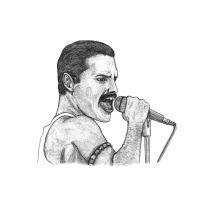 Freddie Mercury by SilverLeon88