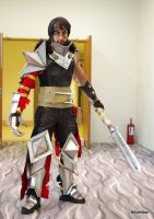 Hawke from Dragon Age 2 by vega147