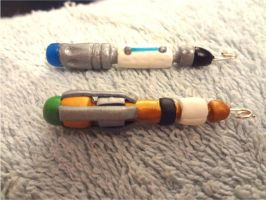 Sonic Screwdrivers by ivy11